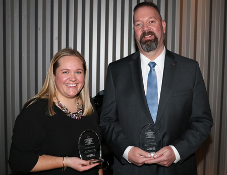 Two ABC Staff Members Recognized at Construction Leadership Event