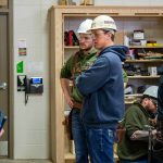 ABC Carpentry students at Moraine Park Technical College