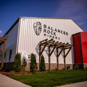 Exterior front of the Balanced Rock Winery