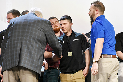 ABC Of Wisconsin Member Apprentice Wins 2019 National Craft Championship Medal