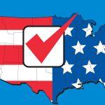 US voting image