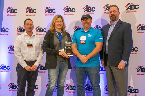 Suburban Engineers/Electrical Contractors Safety Award photo
