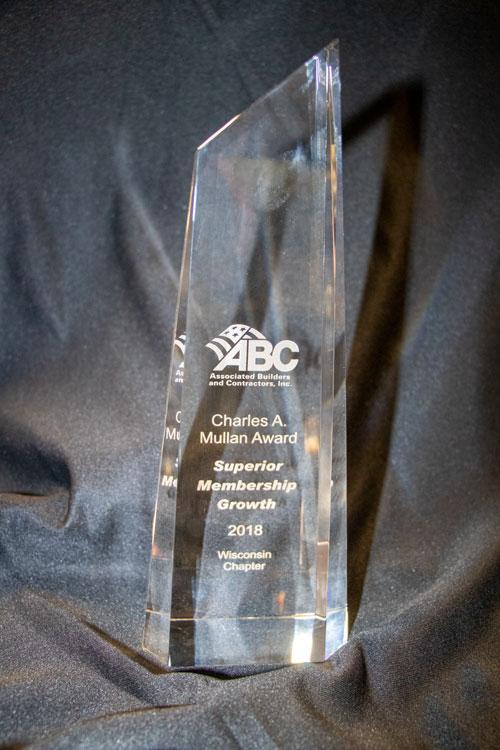 Mullan Award Trophy photo