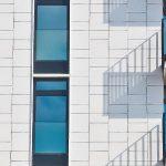 Photo of apartment building facade
